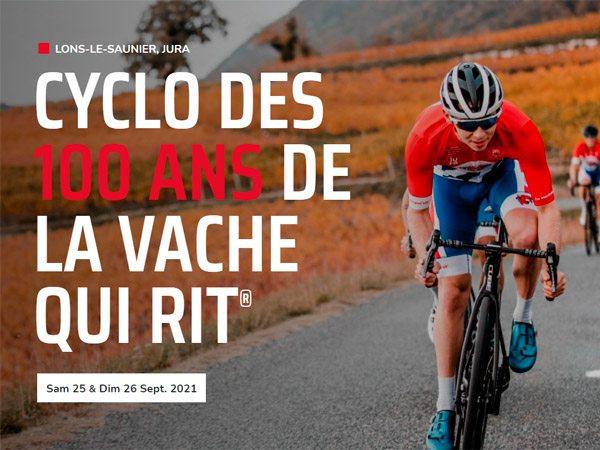 cyclosportive des 100 ans de La Vache Qui Rit