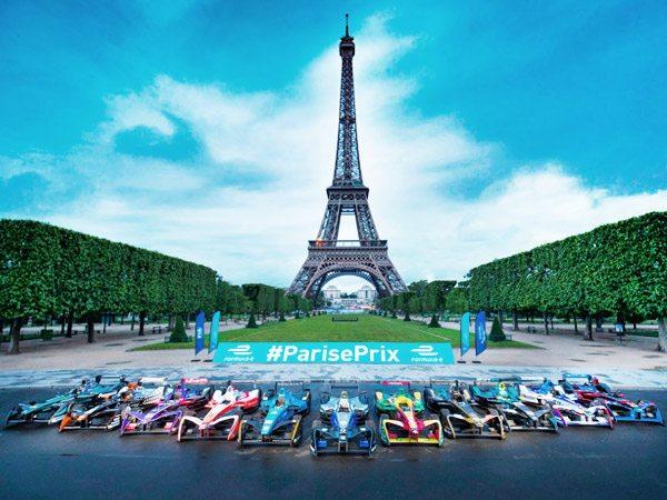 Vitabri présent au Grand Prix de Paris de Formule E