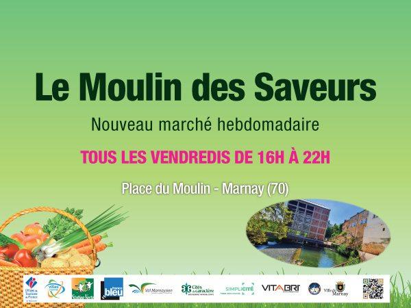 """Marché de Marnay """"le moulin des saveurs"""""""