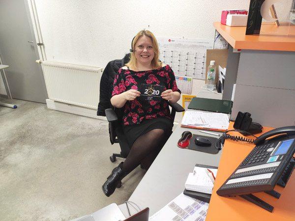 Stéphanie Savoye, assistante administrative, commerciale et de direction