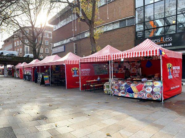 tentes pliantes V3 PRO à Watford Market