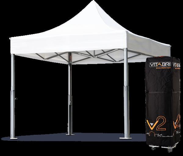 caractéristiques techniques de la tente pliante V2